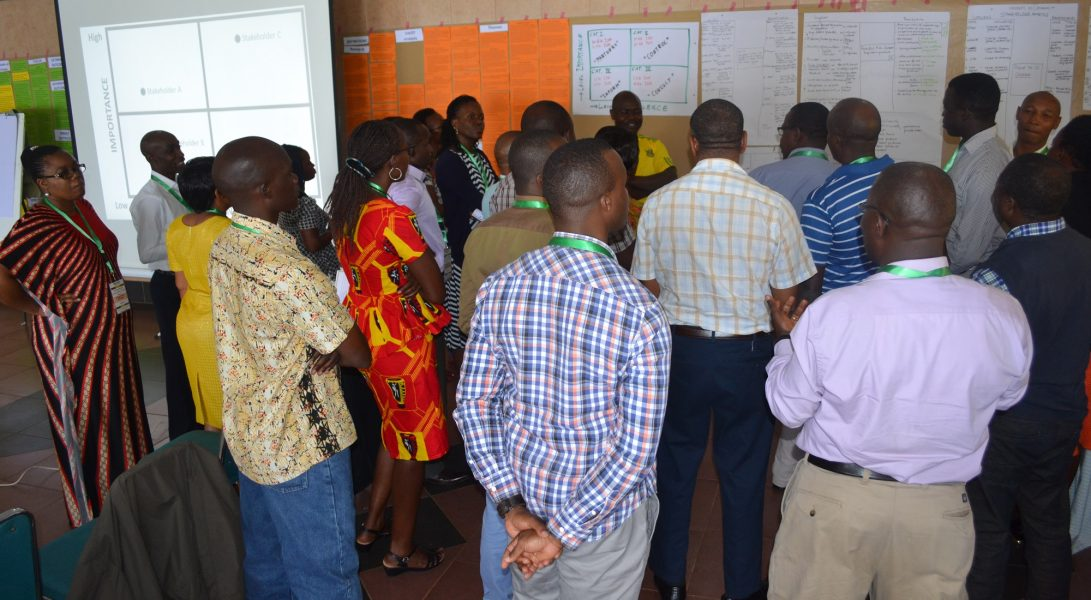 Paepard Holds A Writeshop To Respond To The Joint Cultivate Africa Future Fund 2 (Cultiaf-2) ..