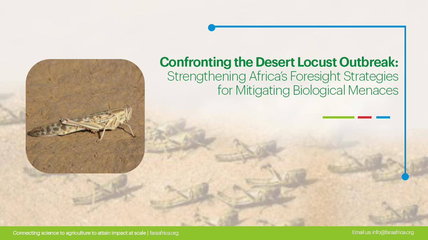 Confronting the Desert Locust Outbreak: Strengthening Africa's Foresight Strategies for Mitigating Biological Menaces