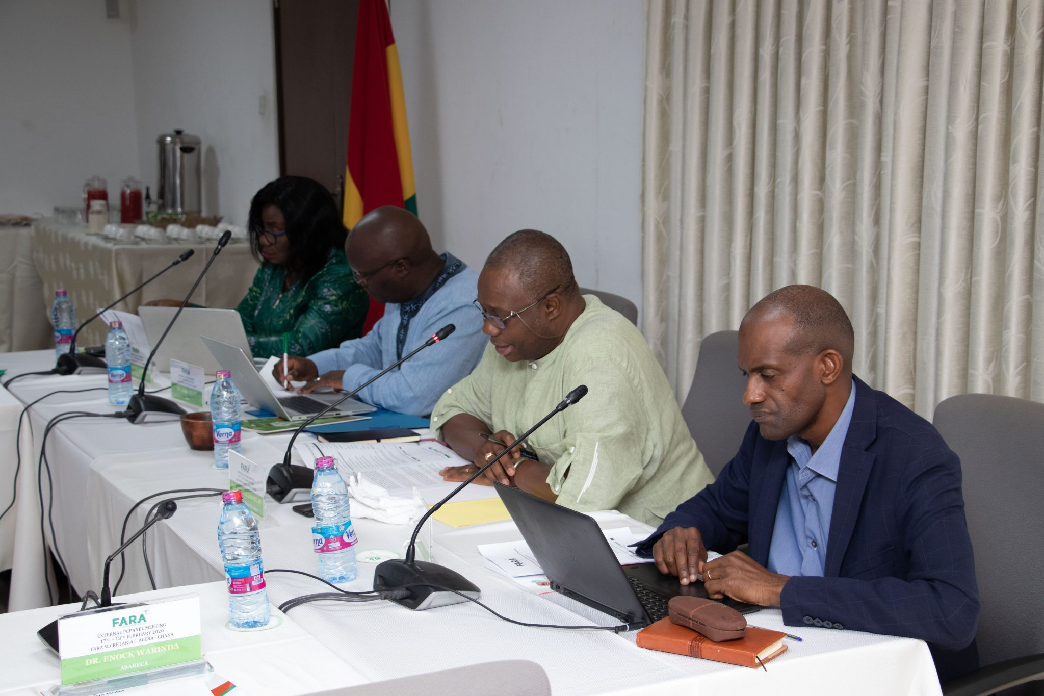 CAADP XP4 Programme Coordination Panel (PC Panel) for Agricultural Research in Africa Underway in Accra