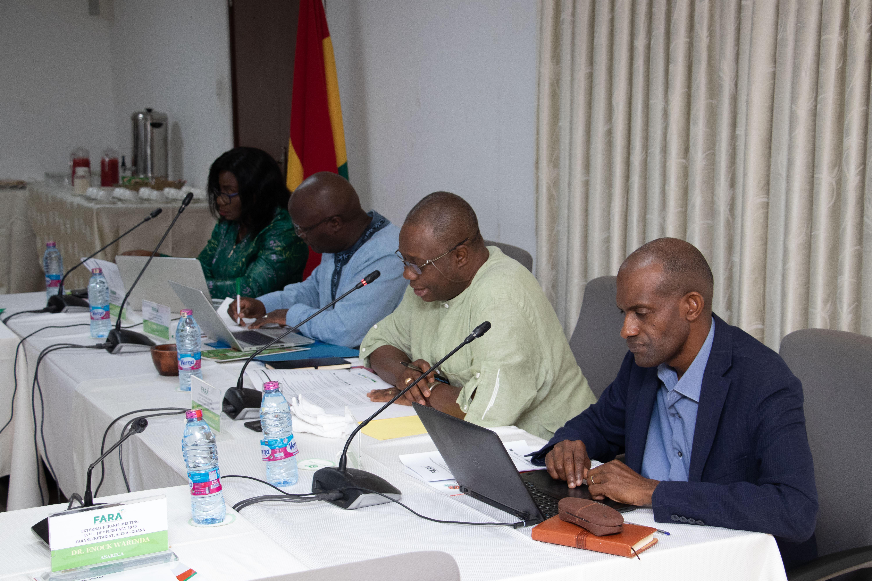 Le comité de coordination du programme CAADP XP4 pour la recherche agricole en Afrique se réunit à Accra