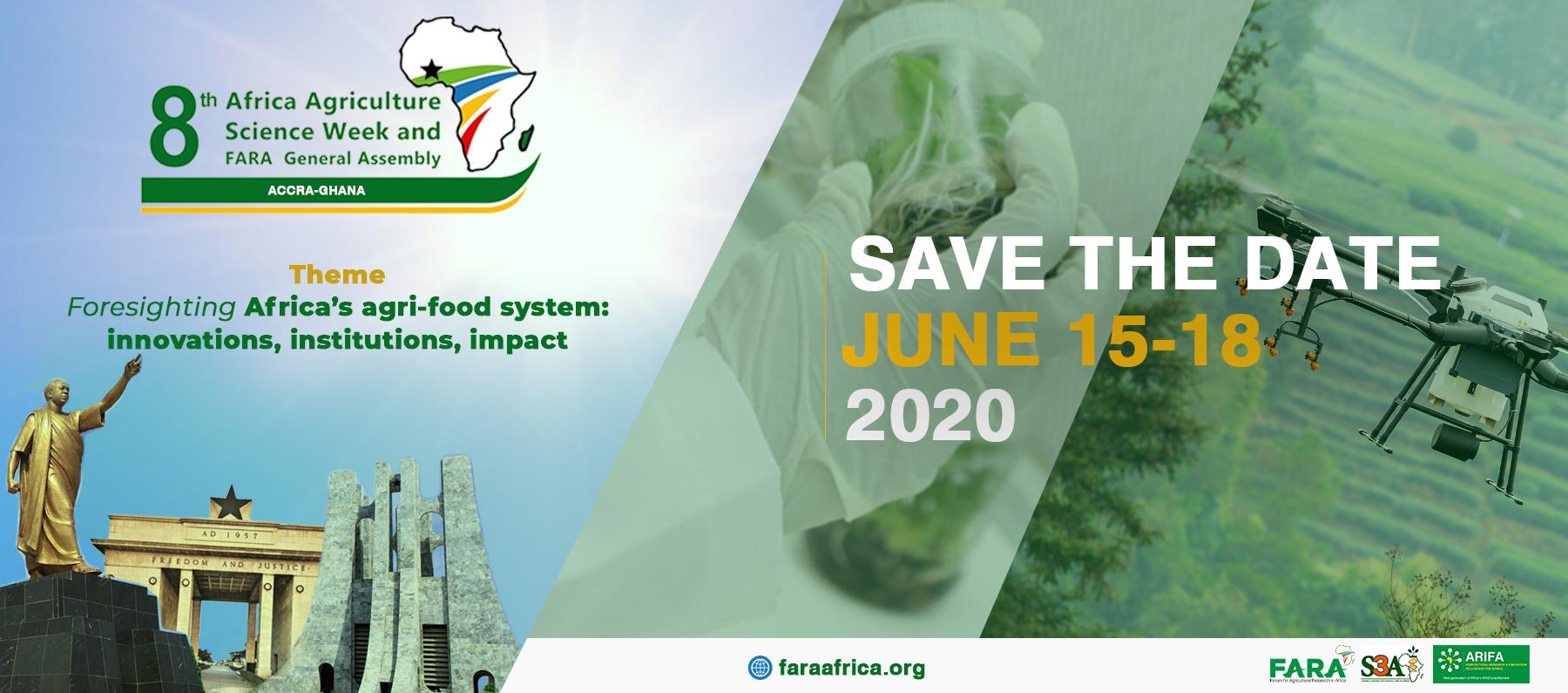 Le FARA annonce la tenue de la 8e édition de la Semaine africaine des sciences agricoles (SASA8) et Assemblée générale du FARA