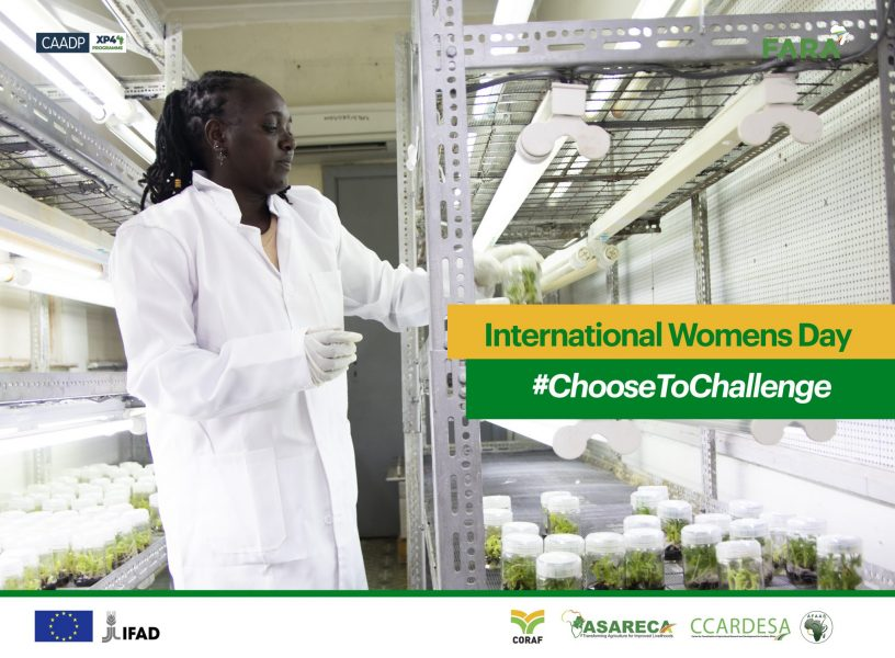 Advocating for Gender-Smart Investments In Advancing Science, Technology and Innovation within Africa's AR4D
